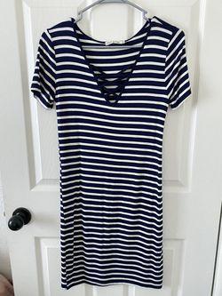 Strip Dress Thumbnail