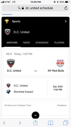 2 DC United vs. NY Red Bulls tickets for Sale in Woodbridge, VA