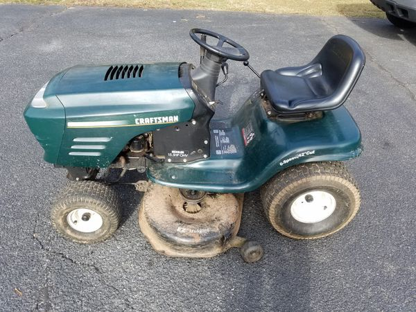 Craftsman Lt1000 Riding Mower >> Craftsman Lt1000 Riding Lawn Mower For Sale In Bethlehem Pa Offerup