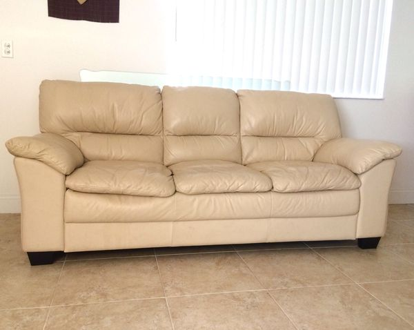 Ethan Allen All Top Grain Leather Sofa For In Delray Beach Fl Offerup