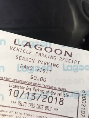 4 lagoon passes, 2 free combo meals and more for Sale in Bountiful, UT
