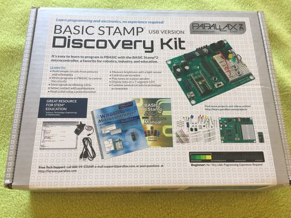 PARALLAX BASIC Stamp Programming Discovery Kit For Sale In Phoenix AZ