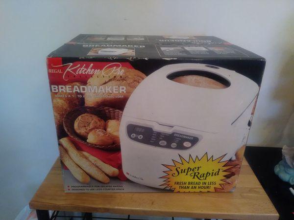 Regal Kitchen Pro Bread Maker | Regal Kitchen Pro Bread Maker For Sale In Warren Mi Offerup