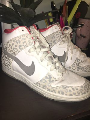 5251c8b0012c Nike Women Dunk High Skinny Leopard shoes  Size 8-8.5 for Sale in Paramount