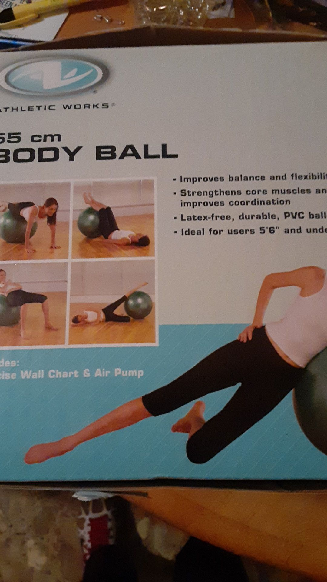 Athletic works body ball for exercise