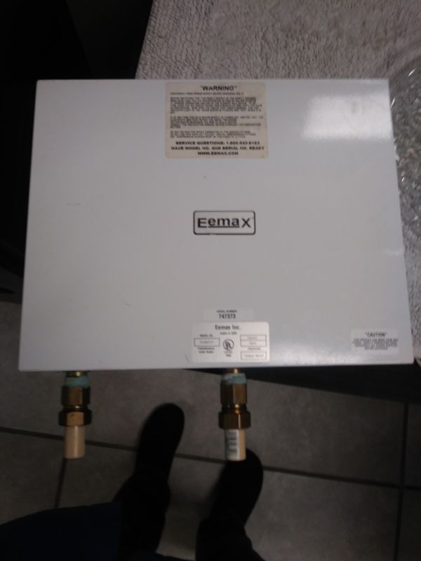 eemax 28kw whole house tankless water heater for sale in lakeland