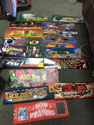 Bunch misc arcade parts for Sale in Colton, CA