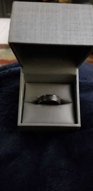 Triton Tungsten Carbide Mens Wedding Band Ring Size 10.5 for Sale in Clermont, FL
