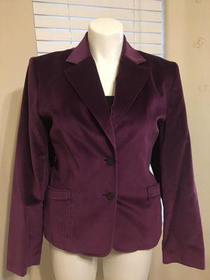 Talbots purple velvet blazer size 18 for Sale in Maricopa, AZ