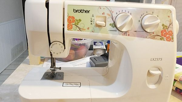 Brother LX40 40 Stitch Sewing Machine Case And Ascessories For Gorgeous Brother Sewing Machine Lx2375