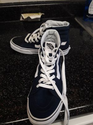 Shoes Vans Off The Wall size 7.5 For Women and 6 for men for Sale in North Potomac, MD
