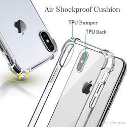 iPhone X XR phone case cover clear bumper Thumbnail