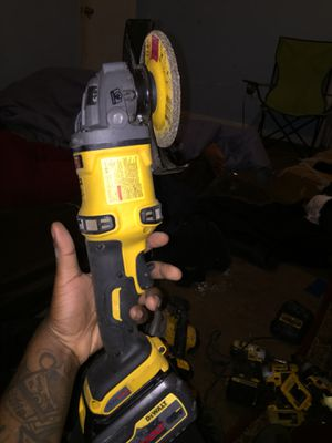 Dewalt Grinder w Metal grinder attatchment for Sale in Alexandria, VA