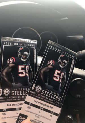 Texans vs Steelers for Sale in Houston, TX