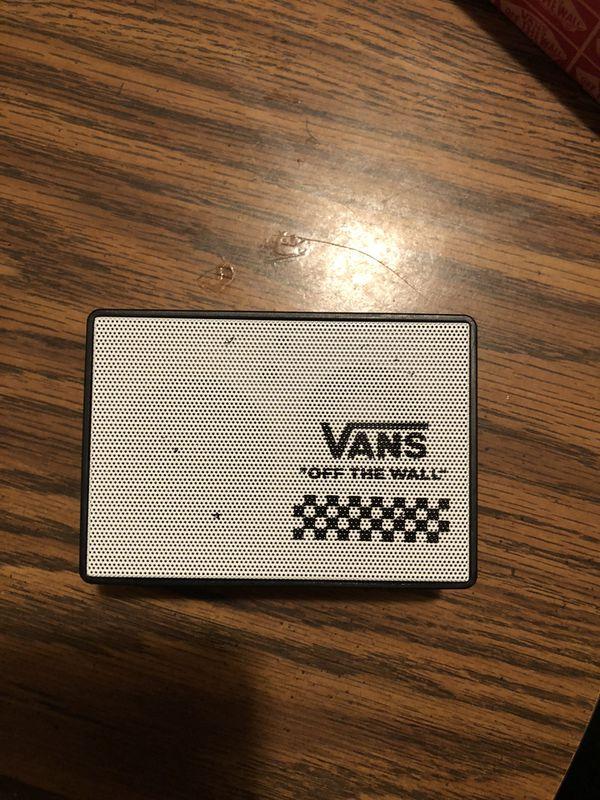 "4d085e6a06 VANS ""off the wall"" wireless speaker for Sale in Orange"