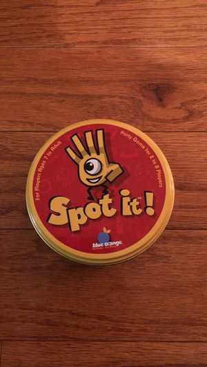 """""""Spot it!"""" Party game for kids for Sale in Fairfax, VA"""