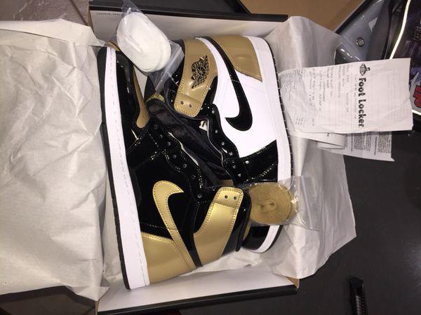 09b6e485244738 Dead Stock size 11 Air Jordan 1 Gold Toe for Sale in Redmond