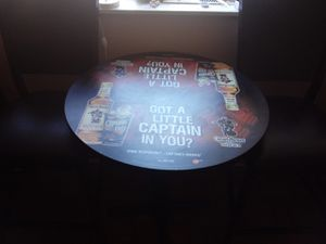 Captain Morgan with two chairs for Sale in Columbus, OH