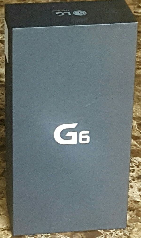 LG G6 32GB Unlocked Smartphone, Black - Brand New for Sale in  Carpentersville, IL - OfferUp