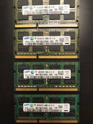 16GB DDR3 RAM in 4GB sticks for Sale in Reston, VA