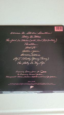 Original Michael Jackson it's thriller album vinyl Thumbnail