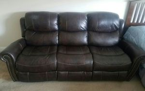 Leather Sofa for Sale in Providence, RI