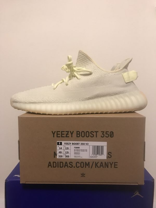 "32c9830c0e8f2 Size 14 adidas Yeezy Boost 350 V2 ""Butter"" for Sale in Clarksville ..."