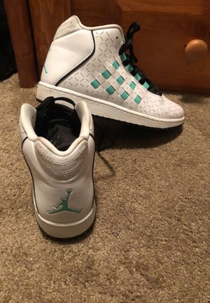 Size 7Y Jordan's in like new condition worn once for Sale in Westminster, CO