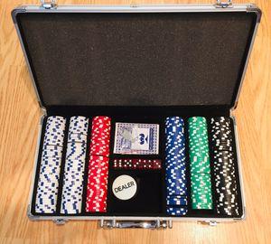 300 Chip Poker Set for Sale in Rockville, MD
