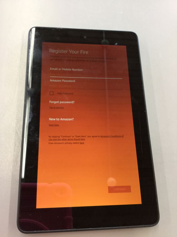 Amazon Kindle Fire (5th Generation) Tablet for Sale in Auburn, WA - OfferUp