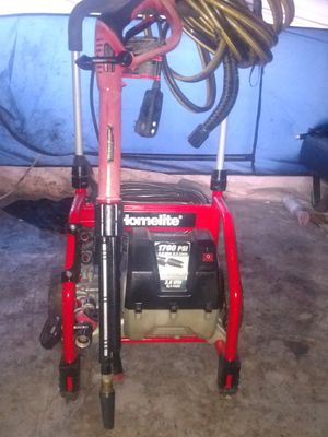 Photo Homelite 1700 psi pressure washer