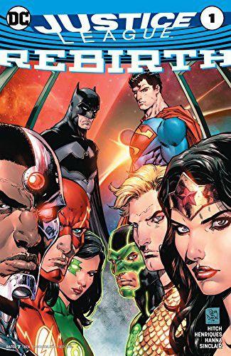 Complete digital Justice League Rebirth Vol1