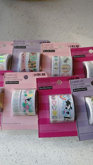 Planner tape/ washi tape for Sale in Germantown, MD