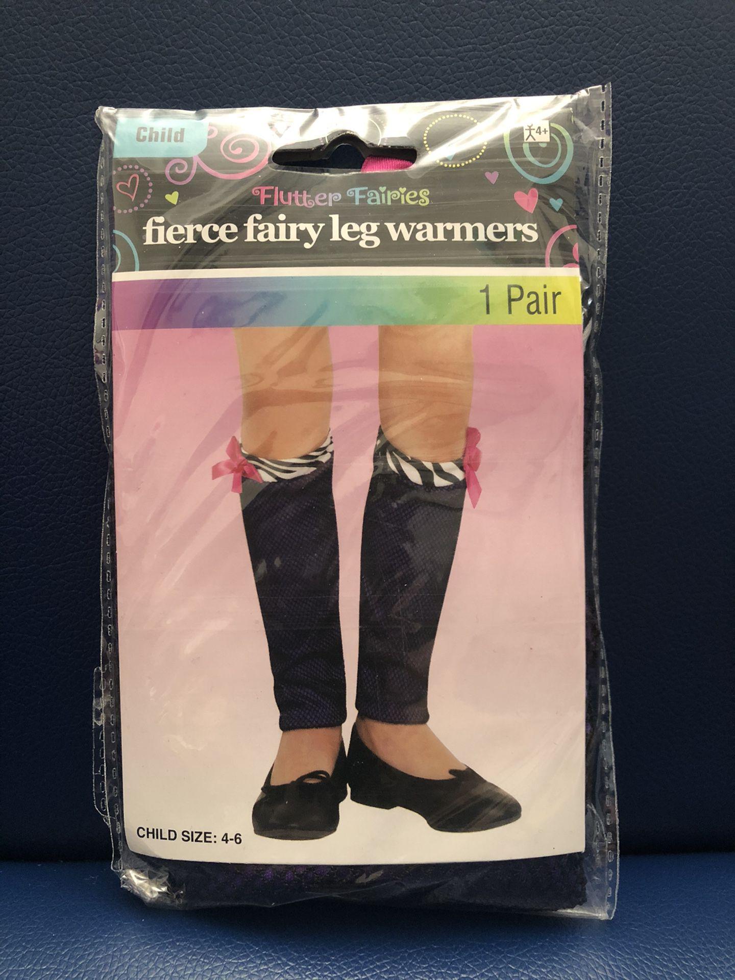 Child Fierce Fairly Leg Warmers - (Halloween) New never worn