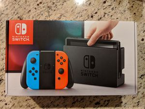 Nintendo Switch brand-new for Sale in Seattle, WA