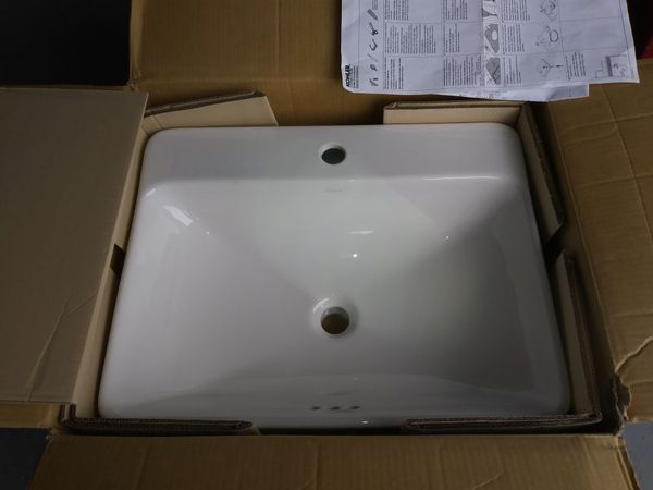 Kohler K 2660 1 0 Vox Rectangle Vessel Bathroom Sink With Single Faucet For In Kissimmee Fl Offerup