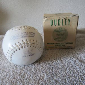 Vintage Dudley 1950's Softball for Sale in Austin, TX