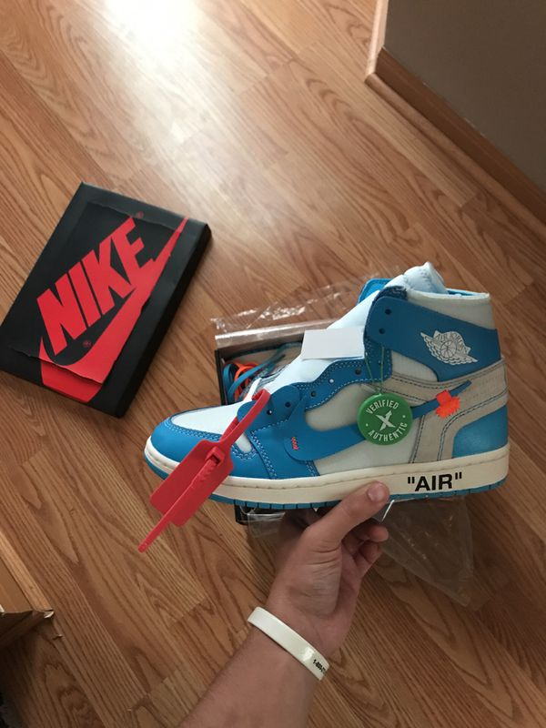 f526aa234a9840 Deadstock Off-White Air Jordan 1 size 9.5 for Sale in West Chicago ...
