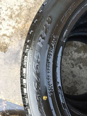 3 pair used tire 235/55/r20 all $100 for Sale in Leesburg, VA