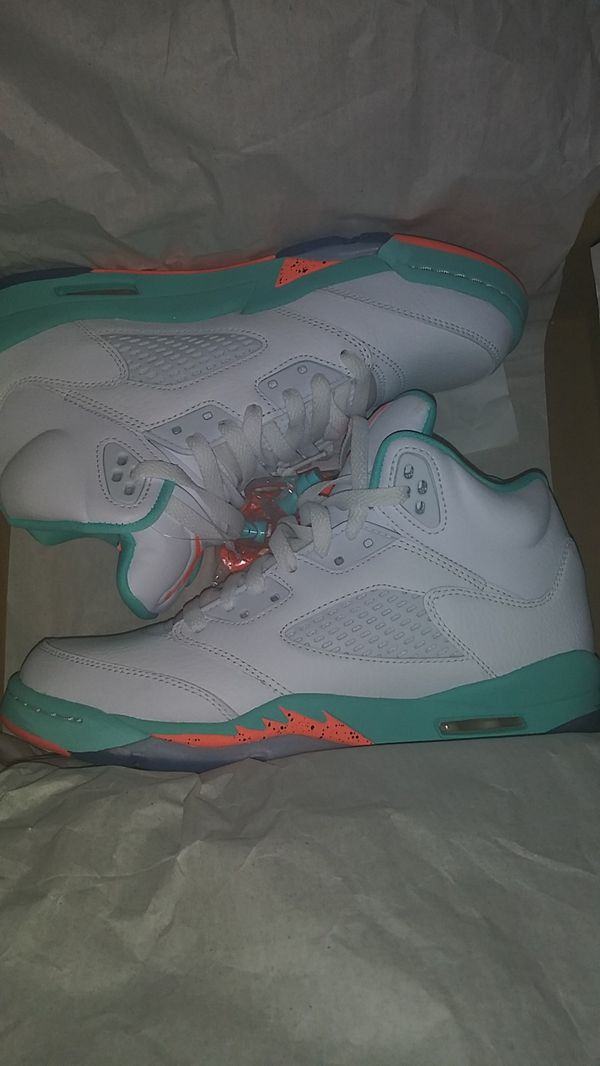 size 40 0ea08 d5cee Air Jordan 5 retro aqua for Sale in Manchester, CT - OfferUp