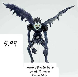 Death Note Ryuk Ryuuku Action Figure Collectible for Sale in Willis, TX