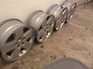 Jeep wheels and a bonus tire - $75 or BO for Sale in Herndon, VA