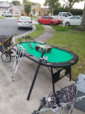 Poker table for Sale in Lake Mary, FL