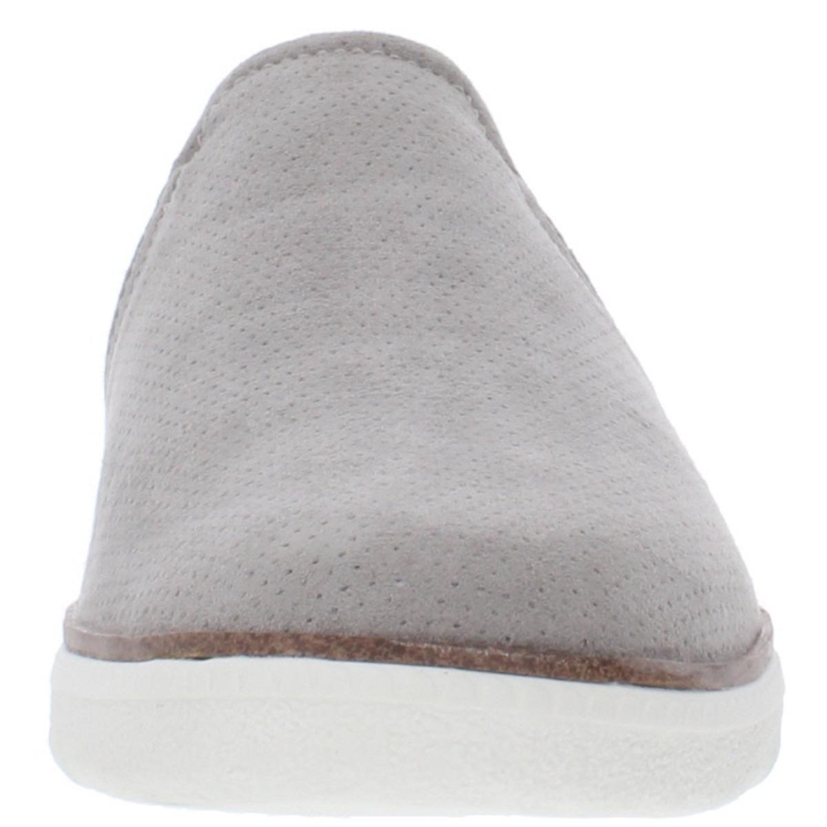 Dr. Scholl's Womens Slip-On Sneakers Gray Size 7 Medium (B,M)