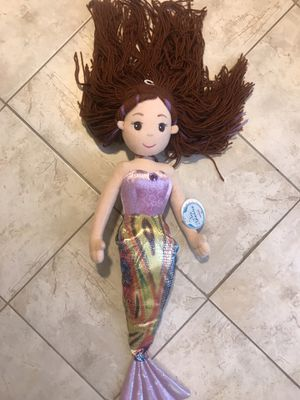 Rand new Brand new Aurora® Sea Sparkles Sophia Mermaid Plush Doll (pick up only) for Sale in Alexandria, VA