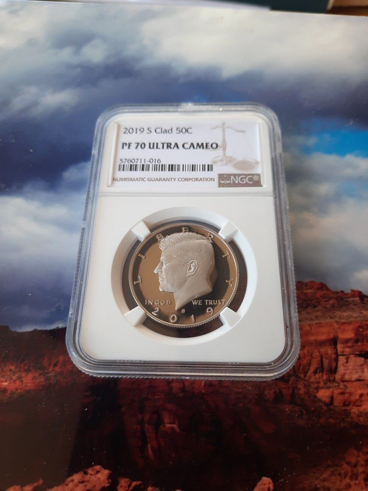 2019 S clad Kennedy NGC PROOF 70 - Highest grade