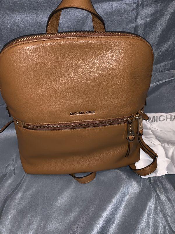 4c6866f54b2a0c MICHAEL KORS RHEA SLIM BACKPACK for Sale in Haddon ...