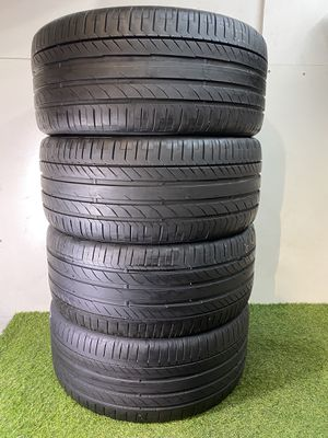 Photo T113 295 40 22 Continental ContiSportContact 5 - 4 used tires