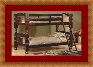 Twin wooden bunk bed frame free delivery for Sale in Crofton, MD
