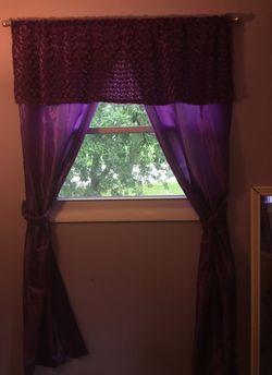 Purple curtains Thumbnail